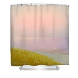 Sunrise Dune Shower Curtain by Michelle Calkins