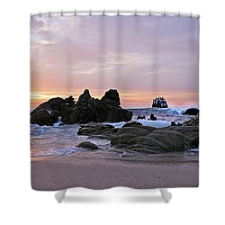 Sunrise In Cabo San Lucas Shower Curtain by Marcia Colelli