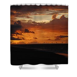 Sunrise  Shower Curtain by Mim White