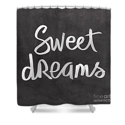 Sweet Dreams Shower Curtain by Linda Woods