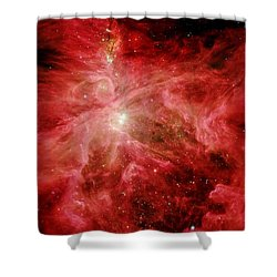 Sword Of Orion Shower Curtain by Benjamin Yeager