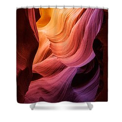 Symphony In Stone Shower Curtain by Inge Johnsson