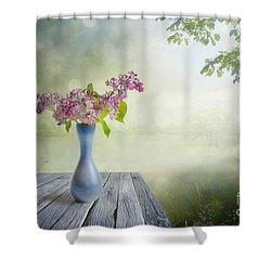 Syringa Shower Curtain by Veikko Suikkanen
