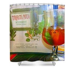 Tahiti Nui Shower Curtain by Kris Hiemstra