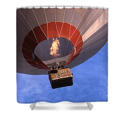 Take Off Shower Curtain by Heiko Koehrer-Wagner