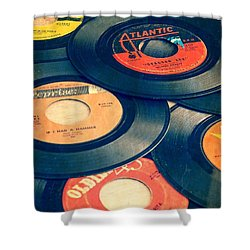 Take Those Old Records Off The Shelf Shower Curtain by Edward Fielding