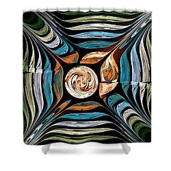 Tale Of Earth Shower Curtain by Anastasiya Malakhova