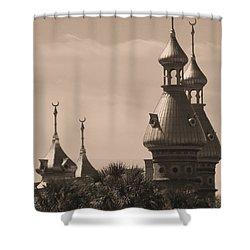 Tampa Minarets  Shower Curtain by Carol Groenen