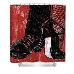 Tango Shower Curtain by Debbie DeWitt