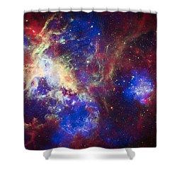 Tarantula Nebula 6  Shower Curtain by The  Vault - Jennifer Rondinelli Reilly