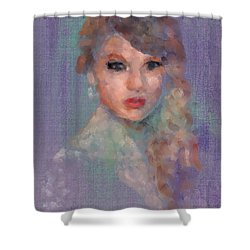 Taylor Shower Curtain by Scott Bowlinger