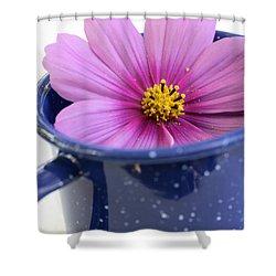 Tea Garden Shower Curtain by Frank Tschakert