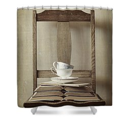 Tea Tales Shower Curtain by Amy Weiss