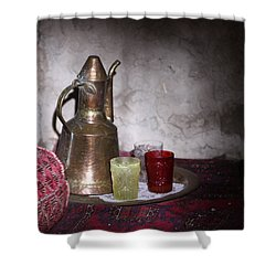 Tea Time Shower Curtain by Shoal Hollingsworth