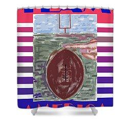 Team America Shower Curtain by Patrick J Murphy