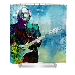 Tears In Heaven 2 Shower Curtain by Bekim Art
