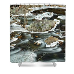 Tellico River Shower Curtain by Douglas Stucky