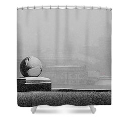 Tempest - Featured 3 Shower Curtain by Alexander Senin