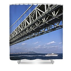 The 8th Wonder Of The World Shower Curtain by Daniel Hagerman