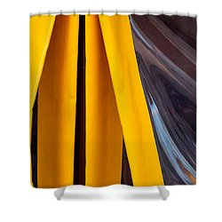 The Angle Project - Covered Angle - Featured 2 Shower Curtain by Alexander Senin
