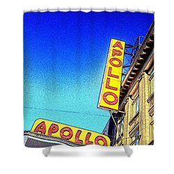The Apollo Shower Curtain by Gilda Parente