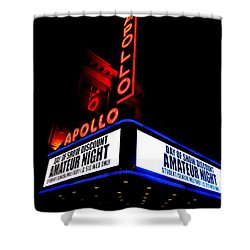 The Apollo Theater Shower Curtain by Ed Weidman