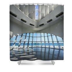 The Art Of Art Shower Curtain by Joan Carroll