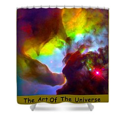 The Art Of The Universe 266 Shower Curtain by The Hubble Telescope