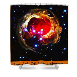 The Art Of The Universe 323 Shower Curtain by The Hubble Telescope