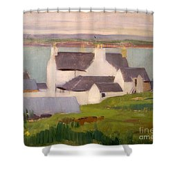 The Artists Studio Iona Shower Curtain by Francis Campbell Boileau Cadell