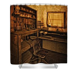 The Assay Office Shower Curtain by Priscilla Burgers