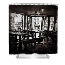 The Belcourt Shower Curtain by Natasha Marco