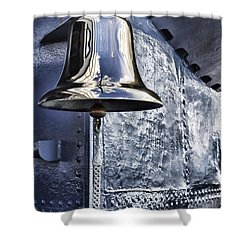 The Bell-uss Bowfin Pearl Harbor Shower Curtain by Douglas Barnard