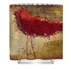 The Bird - S65b Shower Curtain by Variance Collections