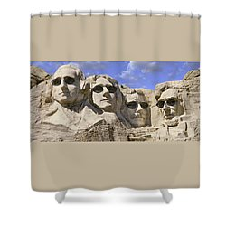 The Boys Of Summer 2 Panoramic Shower Curtain by Mike McGlothlen