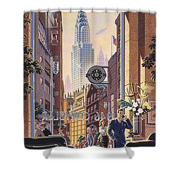 The Chrysler Shower Curtain by Michael Young