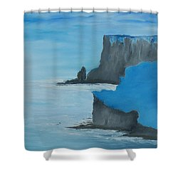 The Cliffs Of Moher Shower Curtain by Conor Murphy