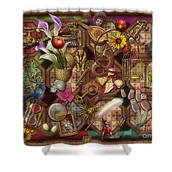 The Collection Shower Curtain by Ciro Marchetti