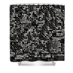 The Collective Shower Curtain by Jack Zulli