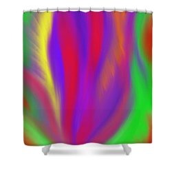 The Colors' Creation Shower Curtain by Daina White