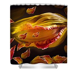 The Contagion Of Laughter Shower Curtain by Angela A Stanton