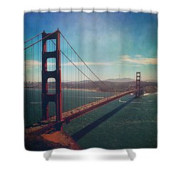 The Crossing Shower Curtain by Laurie Search