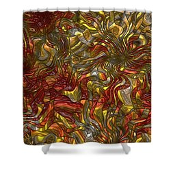 The Dance Shower Curtain by Jack Zulli