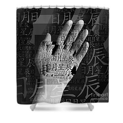 The Day Before Yesterday Shower Curtain by Fei A