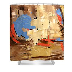 The Deliverer Will Come From Zion Shower Curtain by Anthony Falbo
