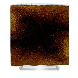 The Descent Shower Curtain by James Barnes