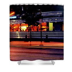 The Diner On Sycamore Shower Curtain by Gary Gingrich Galleries