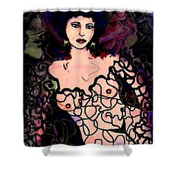 The Dreamer Shower Curtain by Natalie Holland