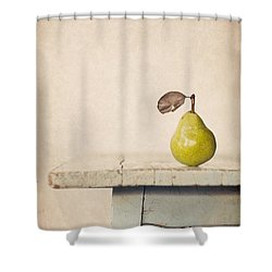 The Exhibitionist Shower Curtain by Amy Weiss