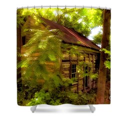 The Fixer-upper Shower Curtain by Lois Bryan